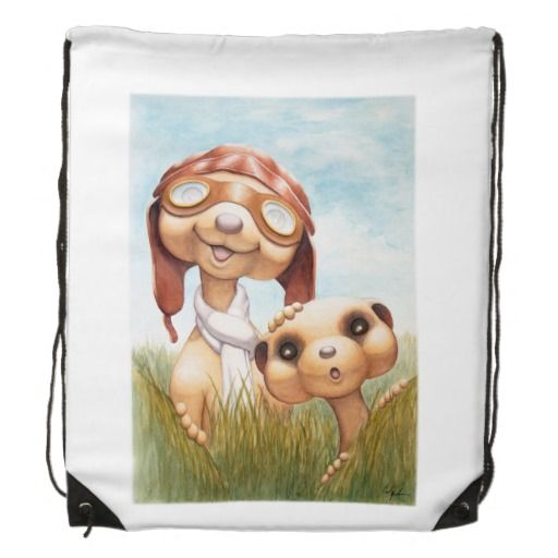 This cute Meerkat backpack is perfect for a new mother to carry all things baby, or as a child's first school pack!