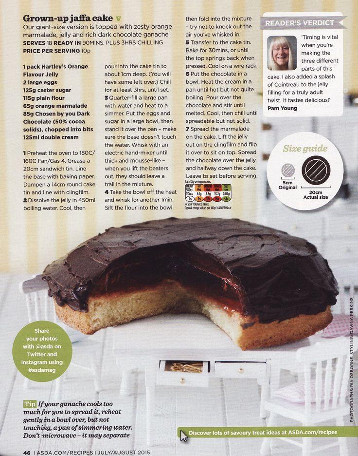 Giant Jaffa Cake Tesco Recipe