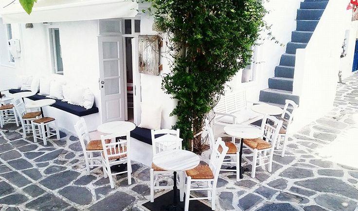 Μερικά εξαιρετικά Cafe στις Κυκλάδες - Distant