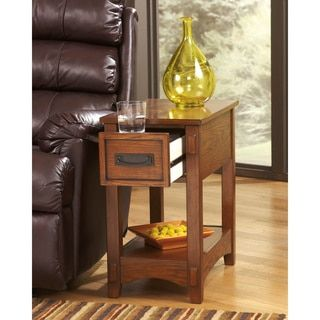 Shop For Signature Designs By Ashley Chairside End Table Get Free Shipping At Overstock Online Furniture Storesfurniture Outletlounge Decorrustic
