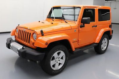 eBay: 2012 Jeep Wrangler Sahara Sport Utility 2-Door 2012 JEEP WRANGLER SAHARA HARD TOP 4X4 6SPD LEATHER 48K #170518 Texas… #jeep #jeeplife