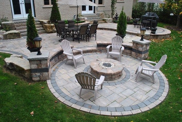 Pit Kit Fire Pit OGS Landscape Services Whitby, ON  Backyard ideas ...