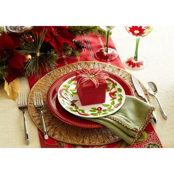 Holiday Place Settings: Classy Christmas Place Settings