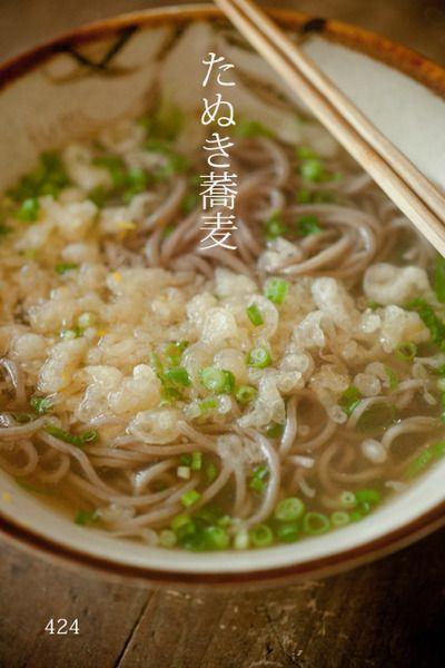 たぬき蕎麦とたぬき寝入り by siwatchさん | レシピブログ - 料理 ...