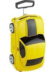 Fantástica maleta con forma de coche y más maletas infantiles baratas