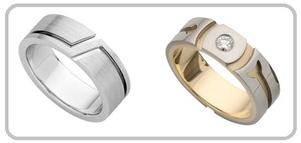 Don't for a second think we have forgotten about the Guys out there! Whether it's a wedding band or a dress ring we always have impeccable designs and a vast selection in-store.