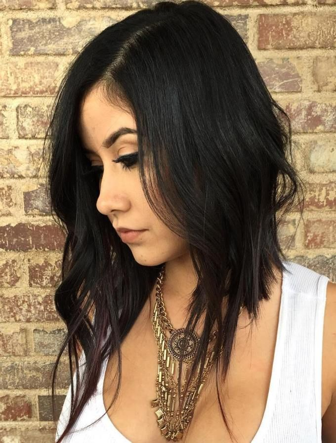 Peachy 17 Best Ideas About Long Asymmetrical Bob On Pinterest Concave Hairstyle Inspiration Daily Dogsangcom