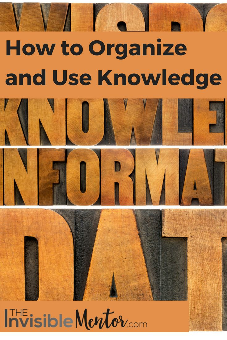 You have heard it said many times that knowledge is power. But I do not think that's accurate, it is what you do with the knowledge that makes it powerful. In Think and Grow Rich by Napoleon Hill, there is a section in the book that teaches you to how to organize and use information. This is the focus of this article. When you acquire knowledge, and you take the time to organize it, you can achieve so much more. You will find the steps you need to take to organize and use knowledge. Visit my…