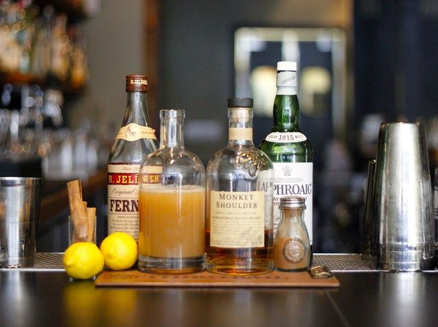 How to Make Third Rail's Scotch & Apple Cider Cocktail Recipe