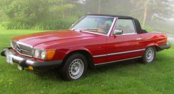 In later models (1974 and onward) in the USA, Mercedes added bumpers that extended out more to meet DOT regulations, as you can see here. They also changed the look of the headlights (twin-sealed). Both of those design changes are widely considered unfavorable by most car collectors.