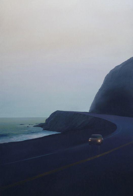 Saatchi Online Artist: Relja Penezic; Oil, Painting California Road Chronicles #41
