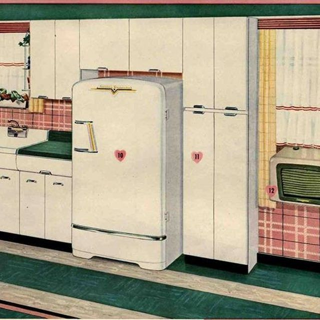 how to refinish metal kitchen cabinets - Retro Metal Kitchen Cabinets