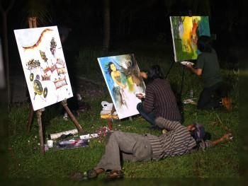 """MR TUKUL JALAN JALAN ON TRANS7"" #Creative #Art in #painting @Touchtalent http://bit.ly/Touchtalent-p"