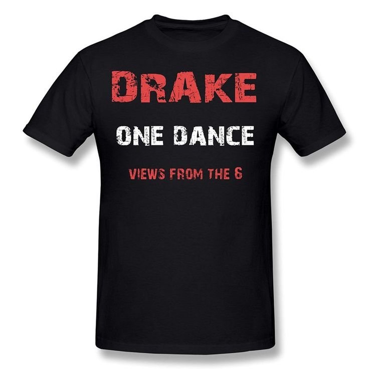 >> Click to Buy << Fashion New Arrival Simple Men's Short-Sleeve Regular O-Neck One Dance Drake Featuring WizKid Kyla T Shirts #Affiliate