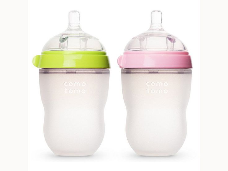 A squeezable bottle? Comotomo Baby Bottles ($18) are also designed to mimic the breastfeeding process with their wide-neck design and smooth, skin-like feel, but the bottle's flexible design makes it unique in a sea of hard plastic/glass bottles. Made from 100 percent BPA-free, medical grade silicon, the bottle is actually squeezable, much like a natural breast, so baby can grab on and get comfortable.