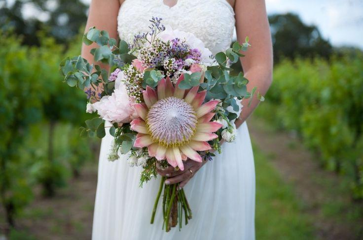 Bridal bouquet captured by NicksPics @ Yarra Ranges Estate. Winery Wedding | Yarra Valley Wedding | Dandenong Ranges Wedding