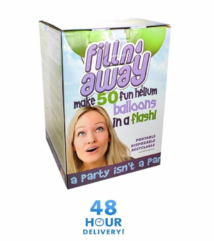 Disposable Helium Gas Canister Cylinder Fills 50 Balloons Party Birthday     eBay