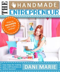 The Handmade Entrepreneur Book launch date is set! Learn how to properly present your items, market to the right people, and turn your hobby into a successful business <3 If selling on Etsy hasn't worked out for you so far or you just want to increase your Etsy business, then this could be the book for you!