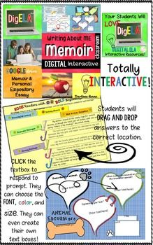 memoir writing lesson plans Guide students through the process of writing powerful memoirs with these writing that focuses on the fundamentals of memoir writing lesson plan : extend.