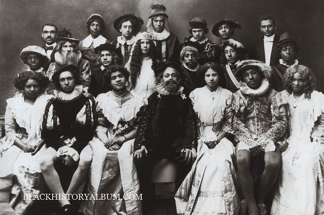 Black History Album A Group Of African American College