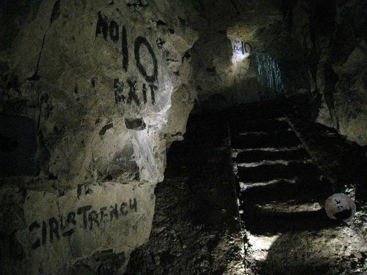 Tunnels in Arras, France