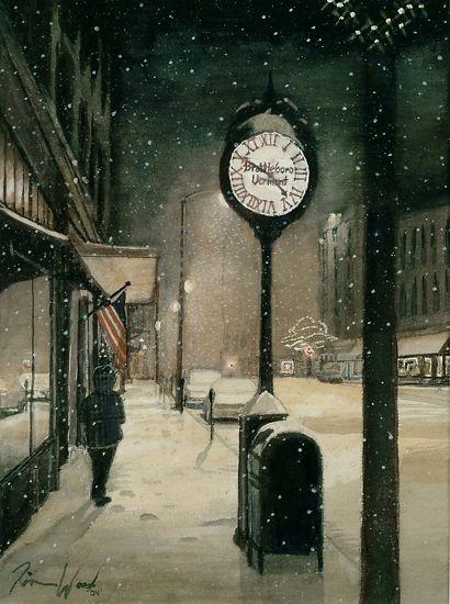 """Ten Of Five"" ... by Tim Wood Watercolor"