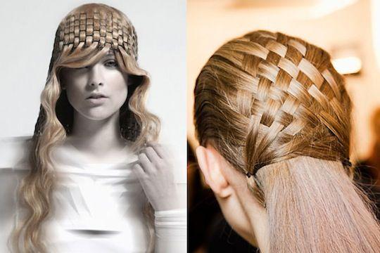 basket weave hair ideas