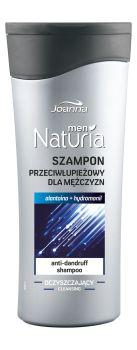 Męski szampon do włosów z łupieżem. Alantoina regeneruje skóry głowy i chroni ją przed wysuszaniem prowadzącym do łupieżu.