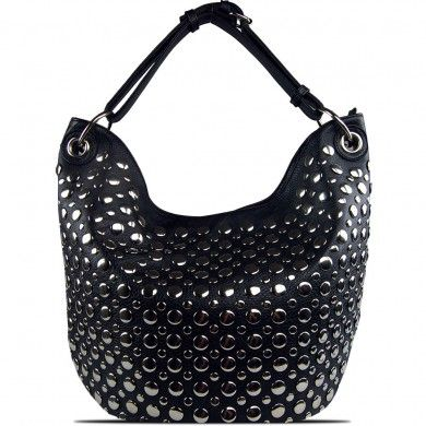 Susan Nichole Vegan Handbag Bella in Black