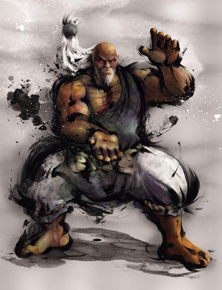 Gouken | Street Fighter IV