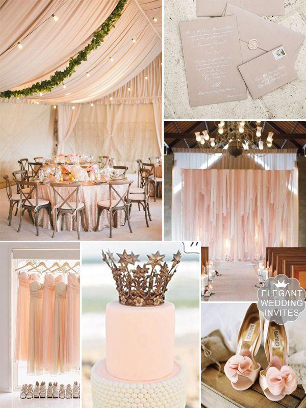trending blush wedding color tent rustic wedding ideas #blushweddingcolors #elegantweddinginvites