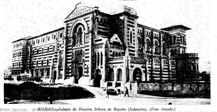 276 mejores im genes sobre fotos antiguas de bilbao en pinterest arquitectos villas y antigua - Colegio arquitectos bilbao ...