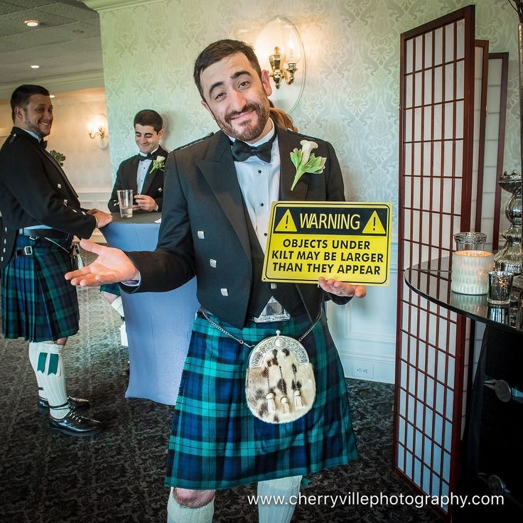 Maybe one of the greatest pictures of my career ;-P #NJWedding #CherryvillePhotography #BaskingRidgeCC cherryville-photography-clinton-hunterdon-county-NJ-wedding-photographer cute-sweet--fun-must-have-bride-groom-picture-basking-ridge-cc-kilt
