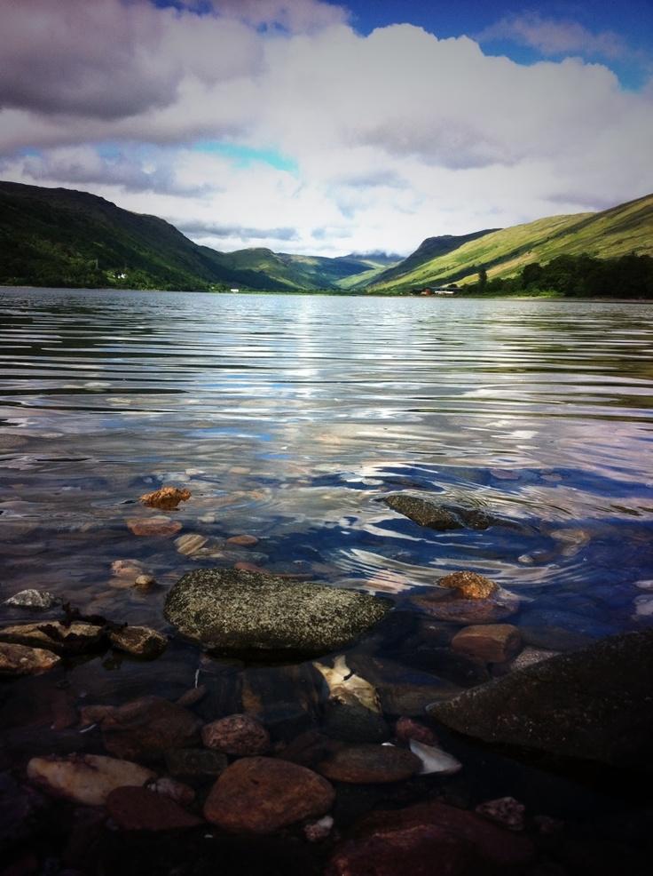 Loch Fyne in Argyll & Bute Scotland