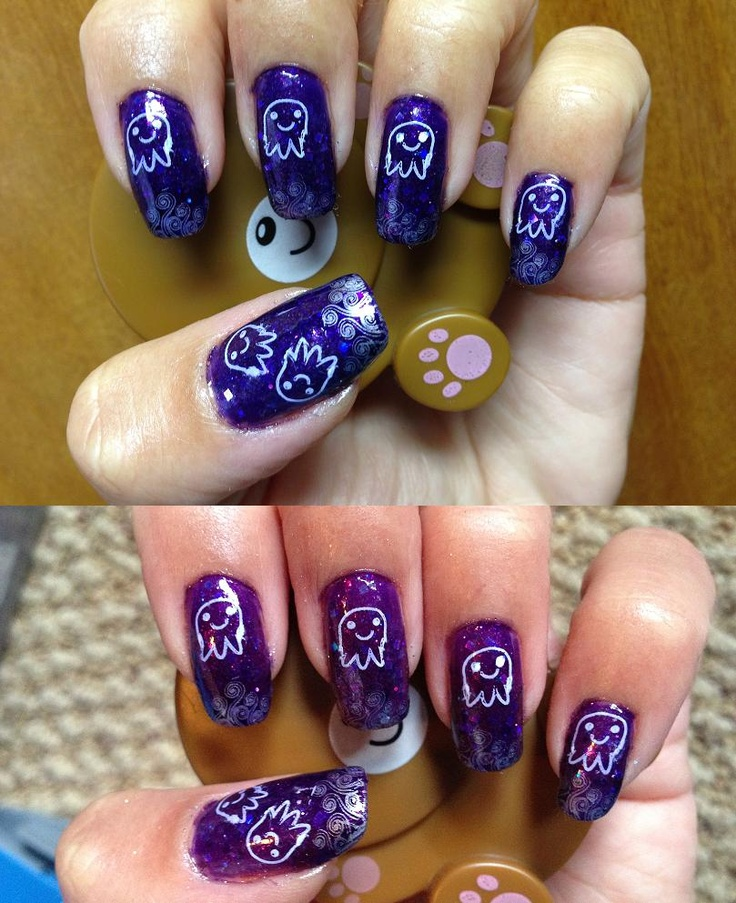114 best My Nail Stamping Manicures images on Pinterest | Nail ...