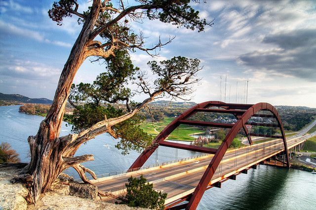Pennybacker Bridge, Lake Austin, Austin, Texas