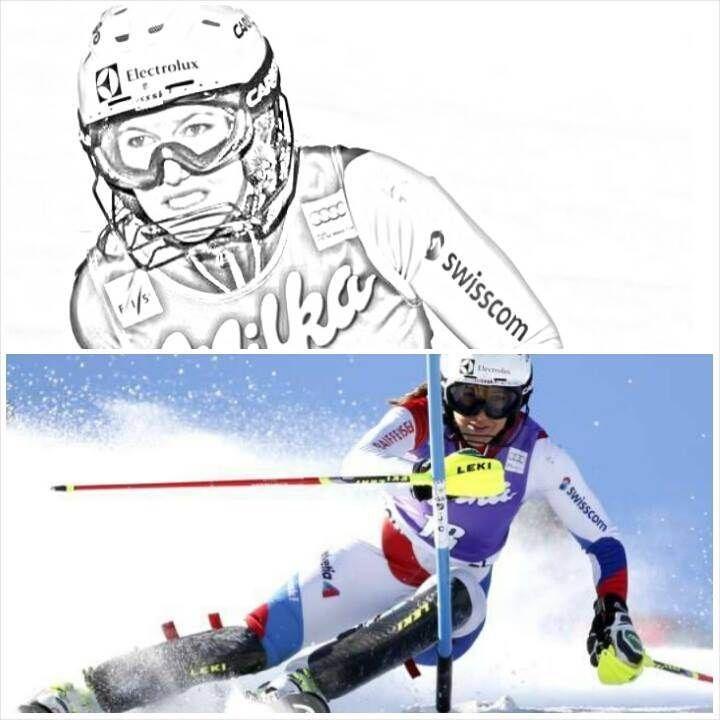 #WendyHoldener nach ihrem 9. Rang in Courchevel 2013.  http://www.wendyholdener.ch/index.php?startseite #SkiAlpin #Slalom