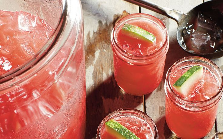 Miss-Kay-Watermelonade - sub honey for the sugar to make it paleo friendly! Add alcohol to make it weekend-friendly :)