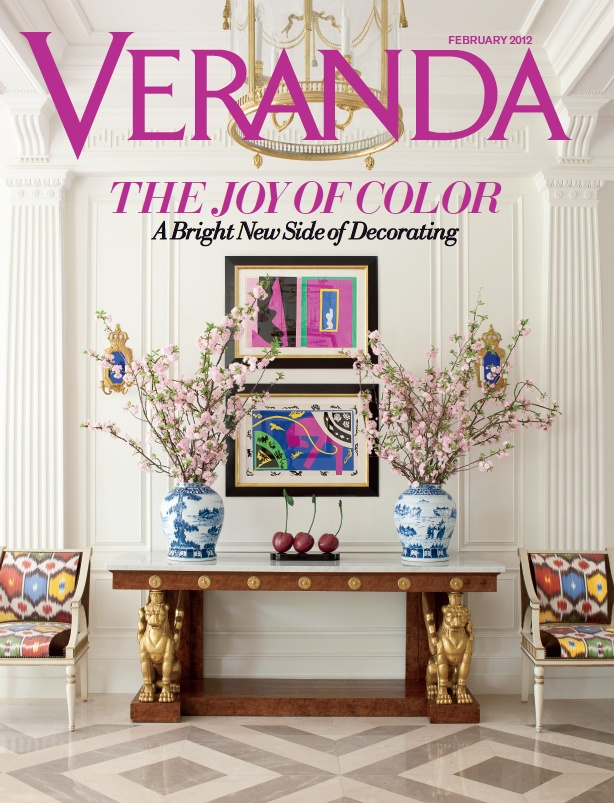 Veranda january february 2012 covers of veranda for Decoration veranda