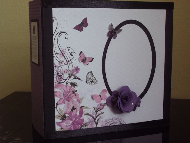 Violet Crush Kaisercraft mini album