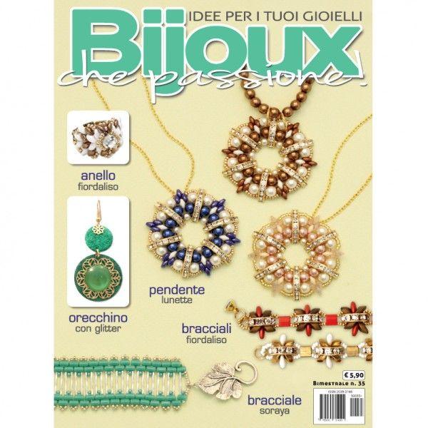 Beading magazine: Bijoux che Passione number 35