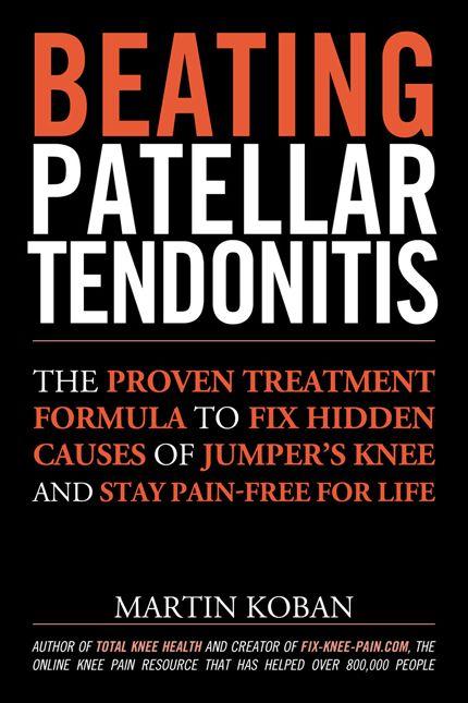 Beating Patellar Tendonitis Book Cover