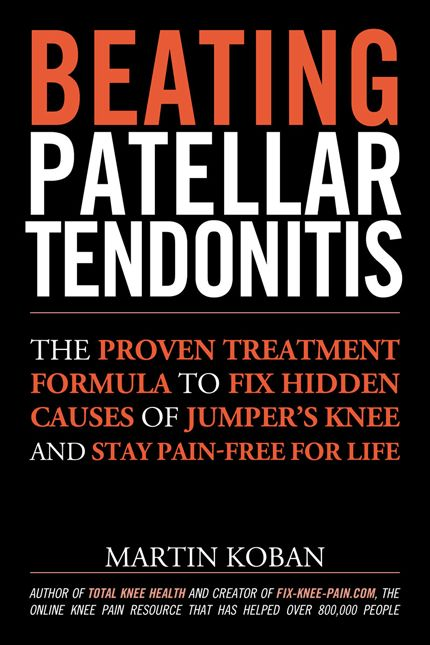 Beating Patellar Tendonitis Book Cover