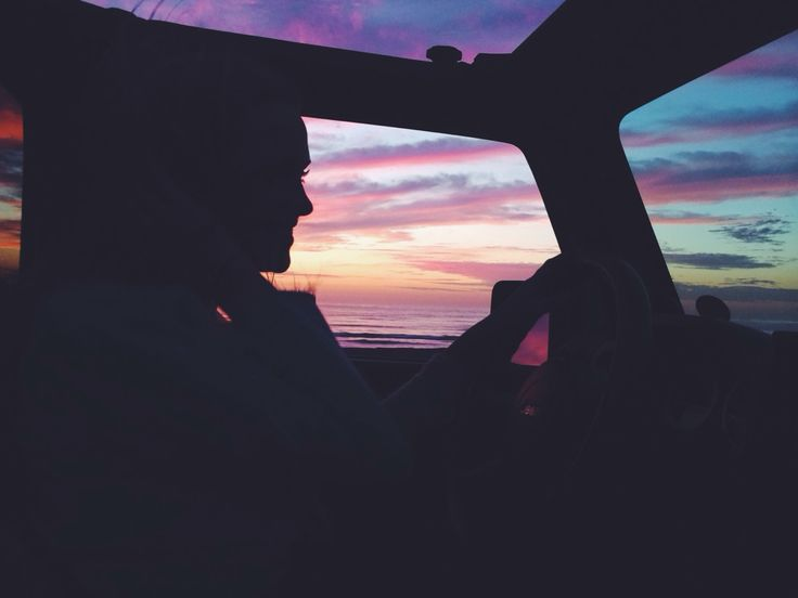 nothing like a sunset drive