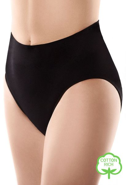 High Waist Women's Panties - Cotton Rich