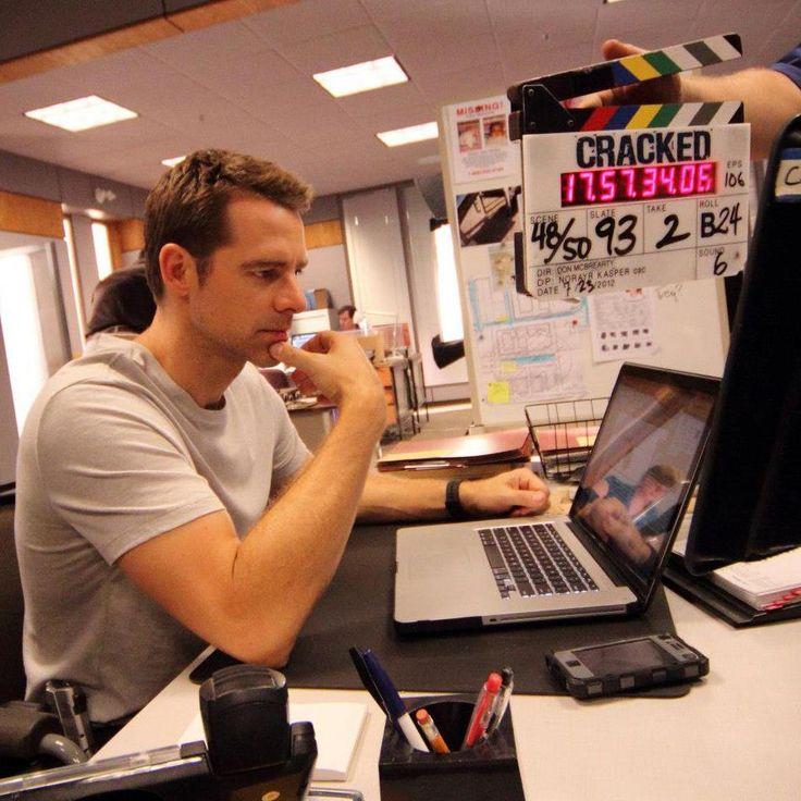 "David Sutcliffe working hard on ""Cracked"""
