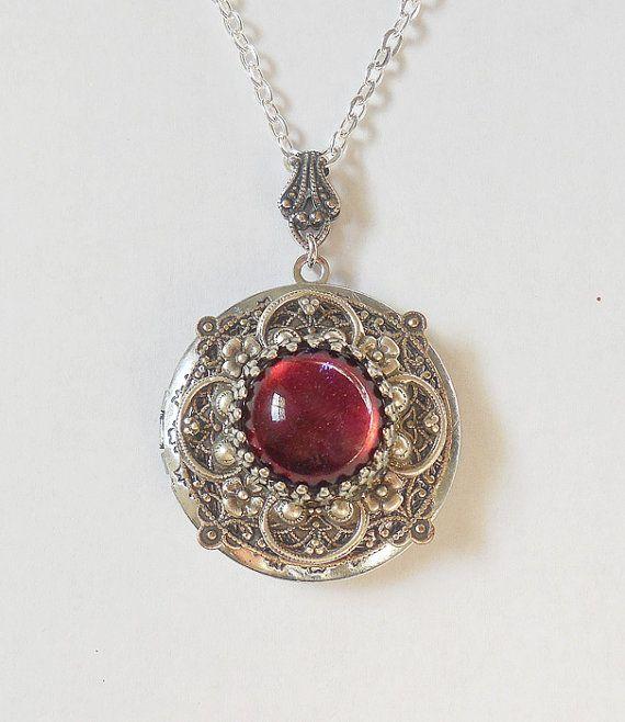 Medaglione argento opale di fuoco di drago respiro