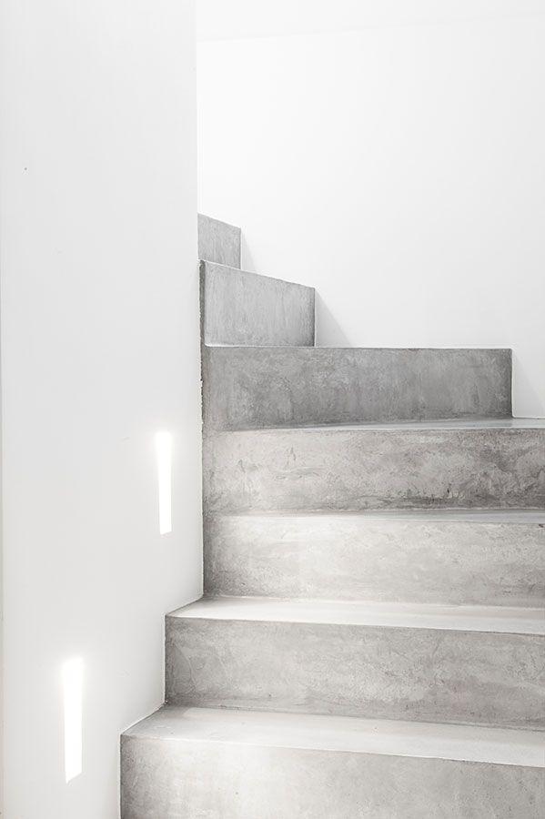 Mooie trap, eens iets anders dan hout