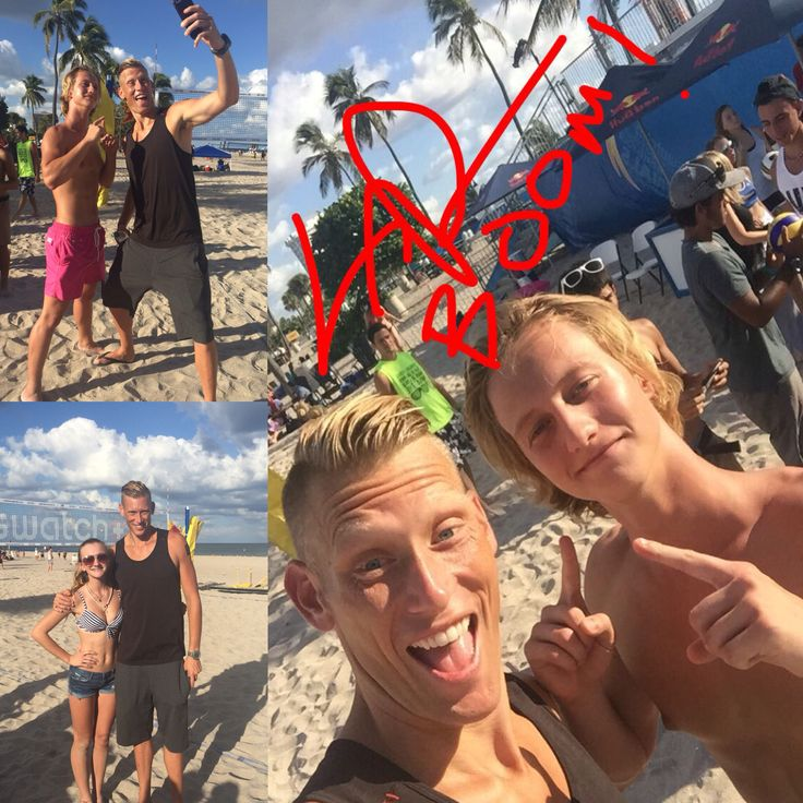 Thank you Casey Patterson great day!! #USA #Olympics 2016 #beach #volleyball