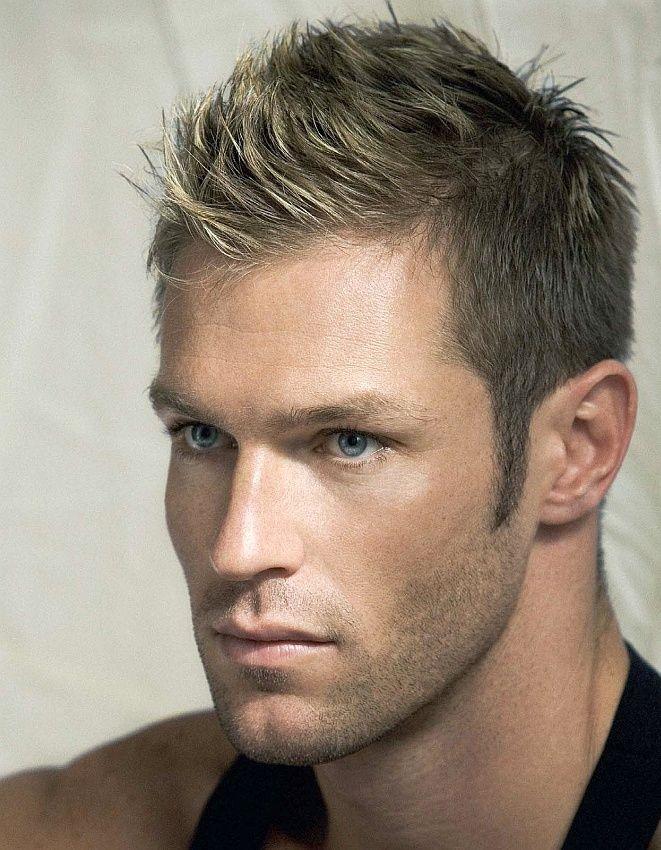 Marco Dapper - this dirty blonde fohawk makes him closer ...